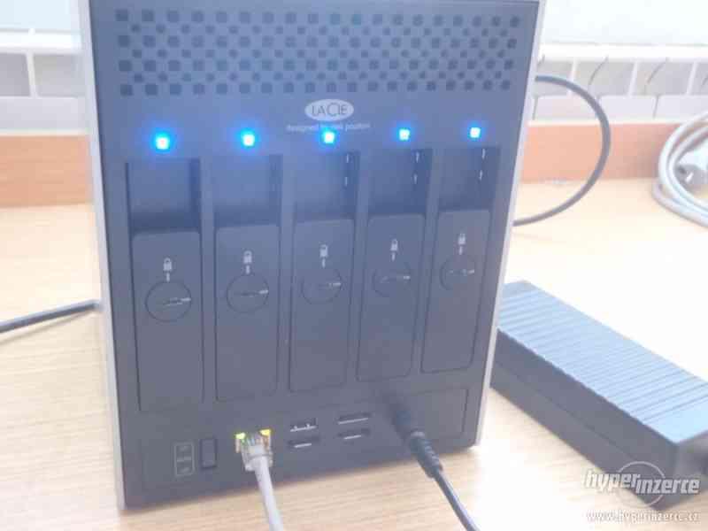 síťové úložiště NAS Lacie 5big 10TB - foto 2