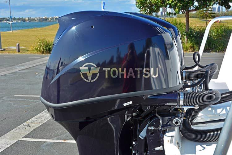 Čtyřtaktní přívěsný motor Tohatsh 60 HP - foto 6