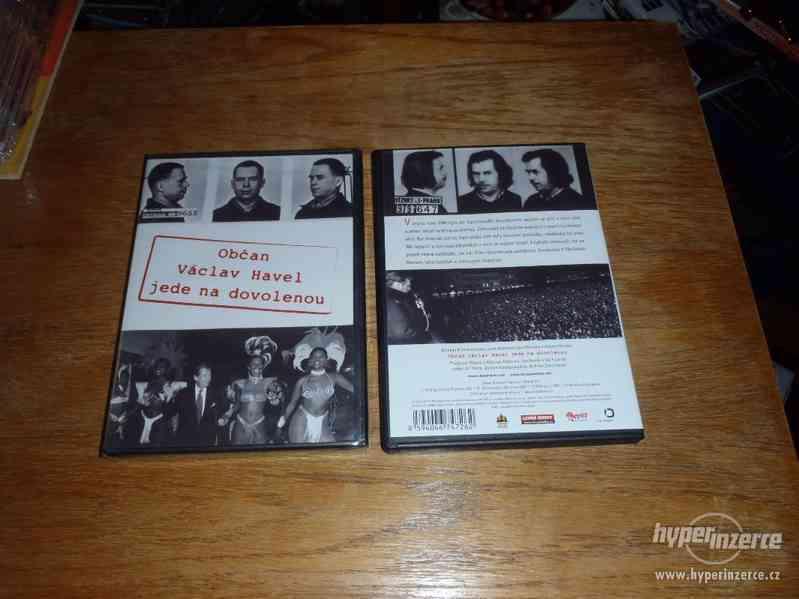 DVD Občan Václav Havel jede na dovolenou 2005
