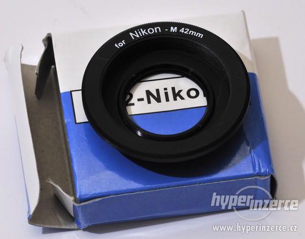 Nikon / M42 - i nekonečno (objektivy ze Zenit na Nikon)