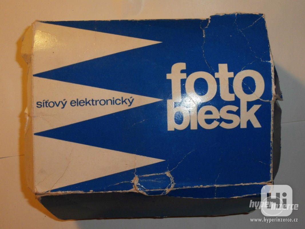 síťový fotoblesk - foto 1