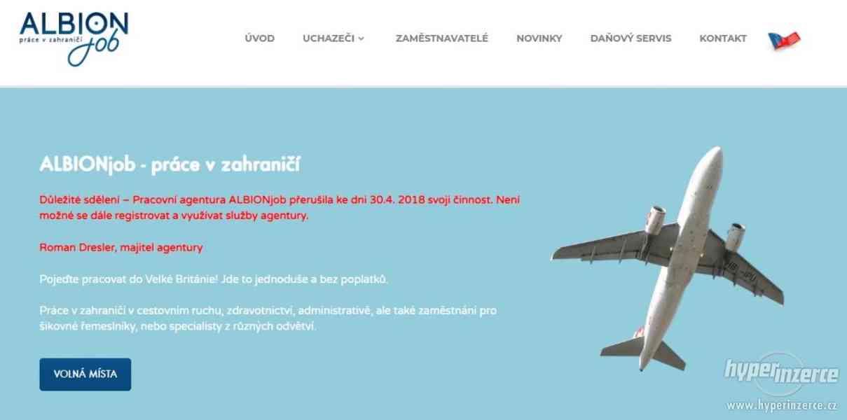 Prodám doménu www.pracevzahranici.cz