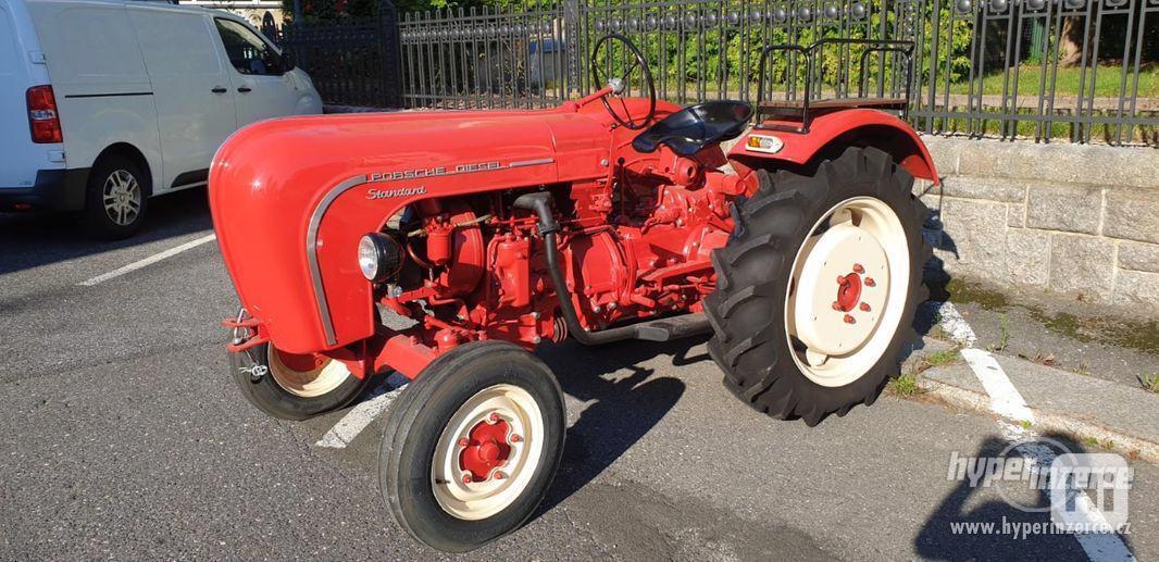Porsche Junior 108 Diesel traktor - foto 1