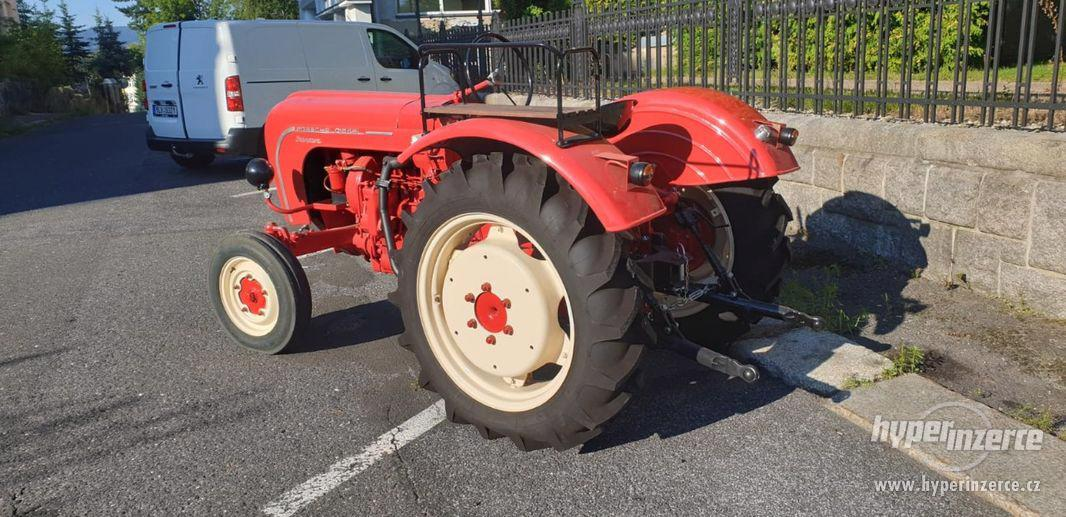 Porsche Junior 108 Diesel traktor - foto 2