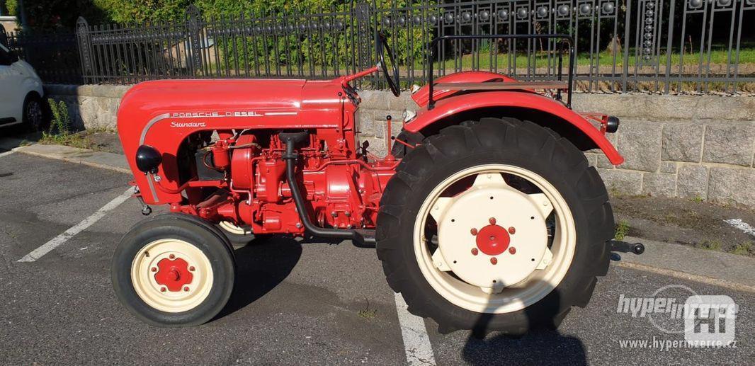 Porsche Junior 108 Diesel traktor - foto 3