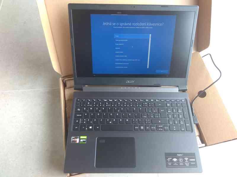 Acer Aspire 7 / Ryzen 5 3550H / GeForce GTX 1650 Ti