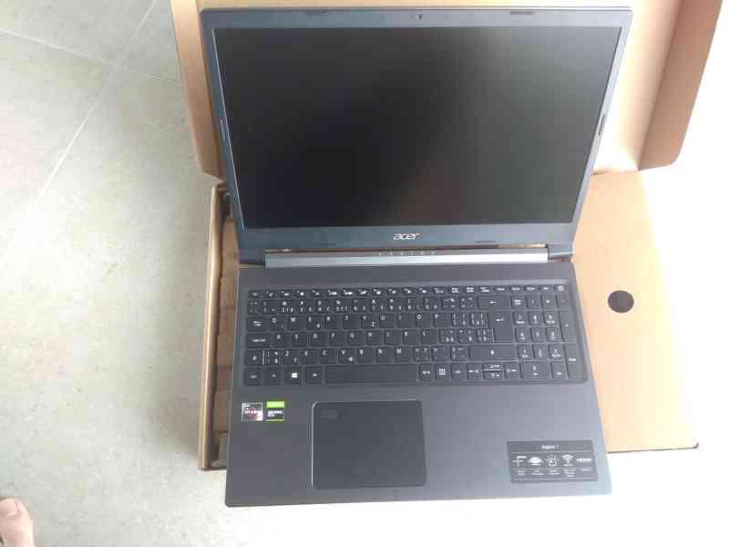 Acer Aspire 7 / Ryzen 5 3550H / GeForce GTX 1650 Ti - foto 5