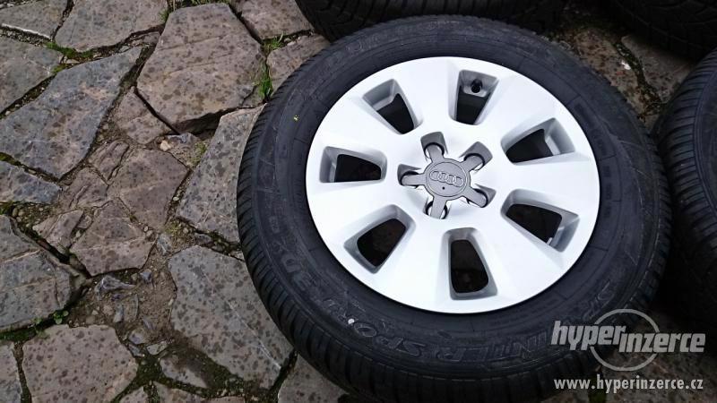 prodám nová ORIGINÁL al.kola 16 5x112 + ZIMNÍ pneu 225 60 16