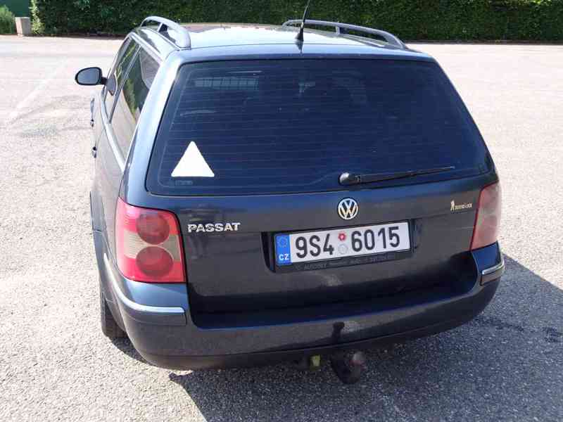 VW Passat 1.9 TDI Variant r.v.2005 (96 kw) Nemá STK - foto 4