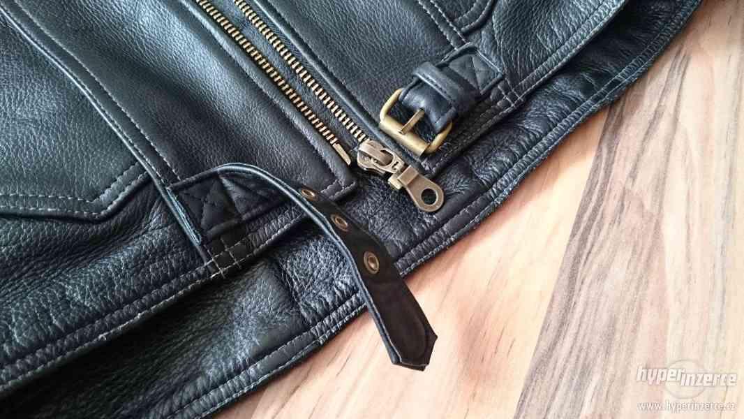 Motorkářská kožená bunda a kalhoty EuroCycles - foto 5