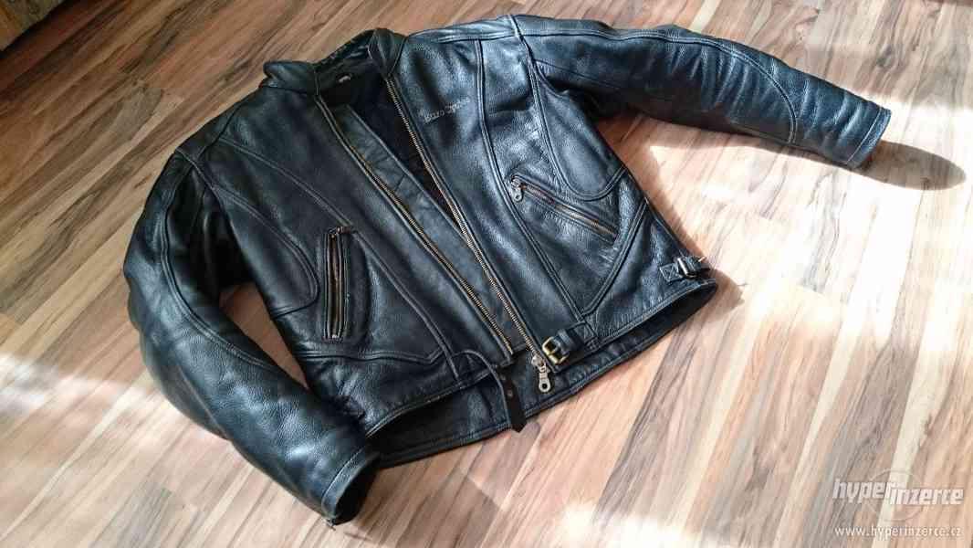 Motorkářská kožená bunda a kalhoty EuroCycles - foto 6