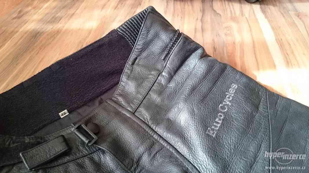 Motorkářská kožená bunda a kalhoty EuroCycles - foto 7