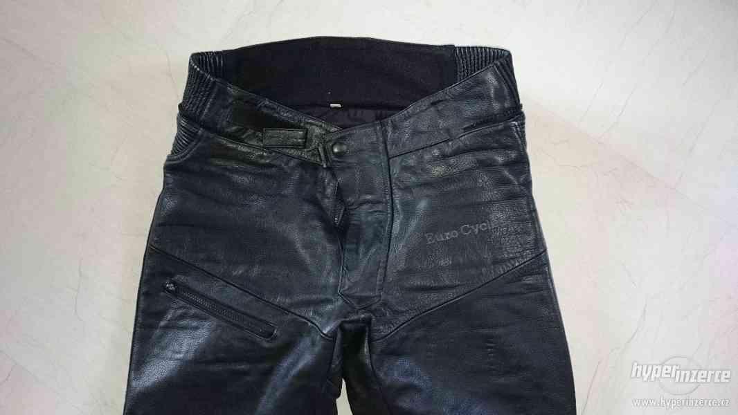 Motorkářská kožená bunda a kalhoty EuroCycles - foto 10
