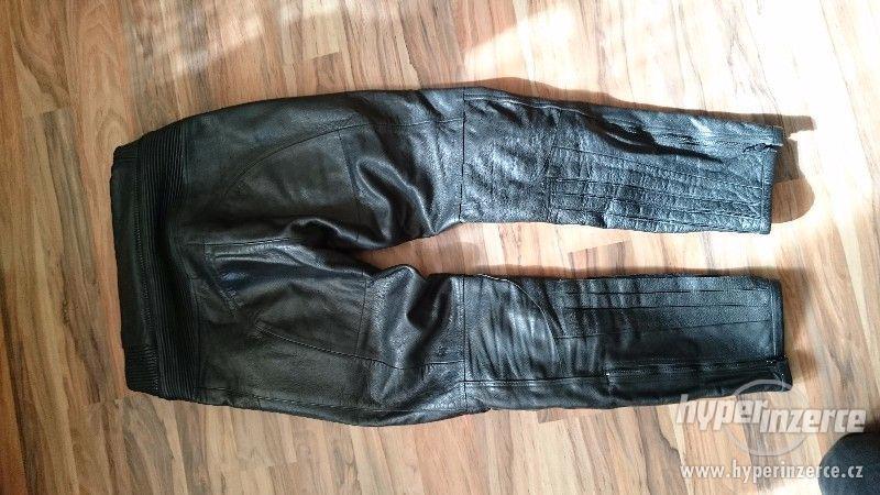 Motorkářská kožená bunda a kalhoty EuroCycles - foto 8