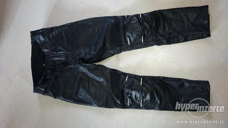 Motorkářská kožená bunda a kalhoty EuroCycles - foto 9