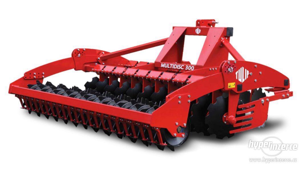 Prodám stroj na zpracování půdy MULTIDISC - foto 1