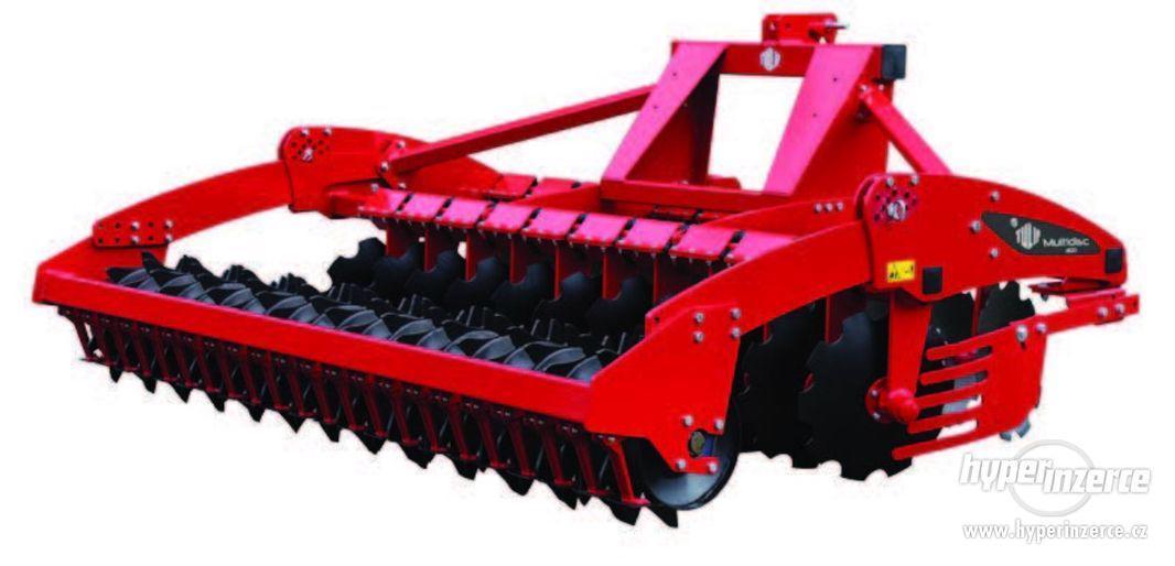 Prodám stroj na zpracování půdy MULTIDISC - foto 2
