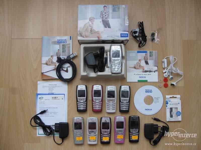 Nokia 6610 - tlačítkové mobilní telefony z r.2002 od 10,-Kč