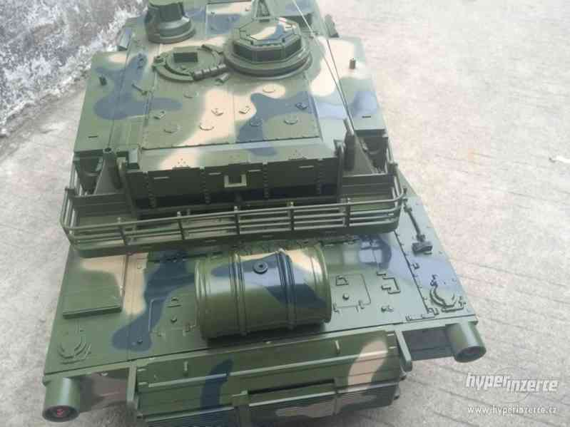 RC bojový tank Monster - foto 1