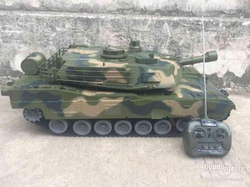 RC bojový tank Monster - foto 3