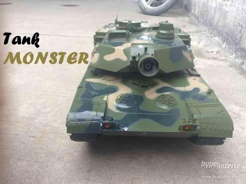 RC bojový tank Monster - foto 5