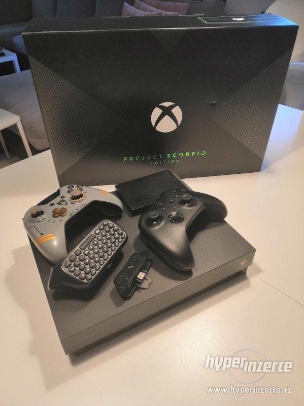 Xbox one X-Project Scorpio edice Vhodný jako dárek