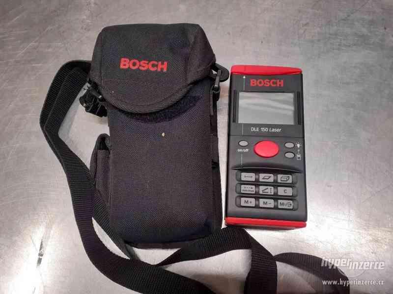 Laserový dálkoměr BOSCH DLE 150 - - foto 3
