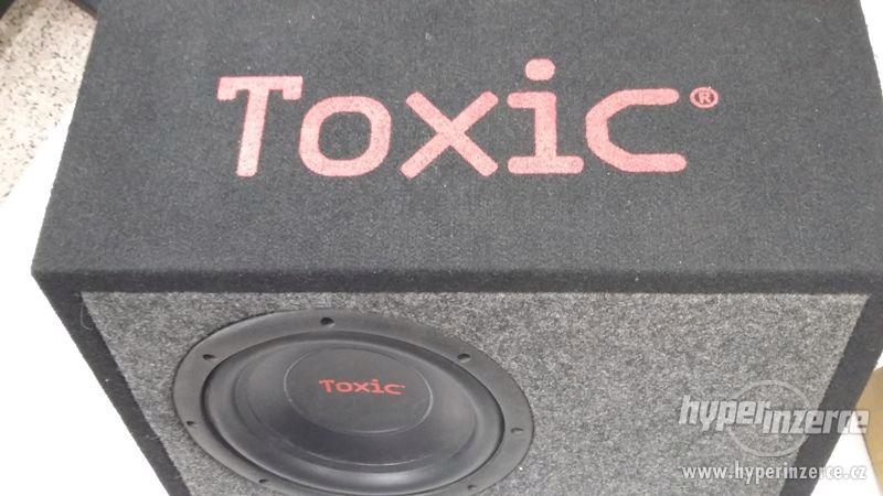 Nabízím Subwoofer Toxic TXS-200, 400W - foto 1