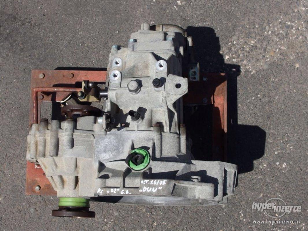 Převodovka Škoda Octavia I, 1.6/75 kW, kód DUU - foto 1