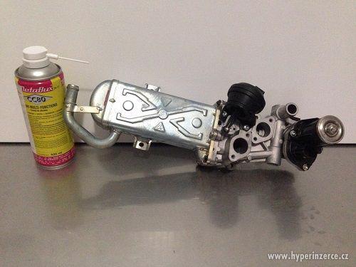 Chladič zpětného vedení spalin - Egr ventil