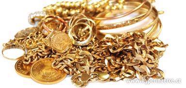 Výkup zlata Šperky Koupím zlato zlomkové