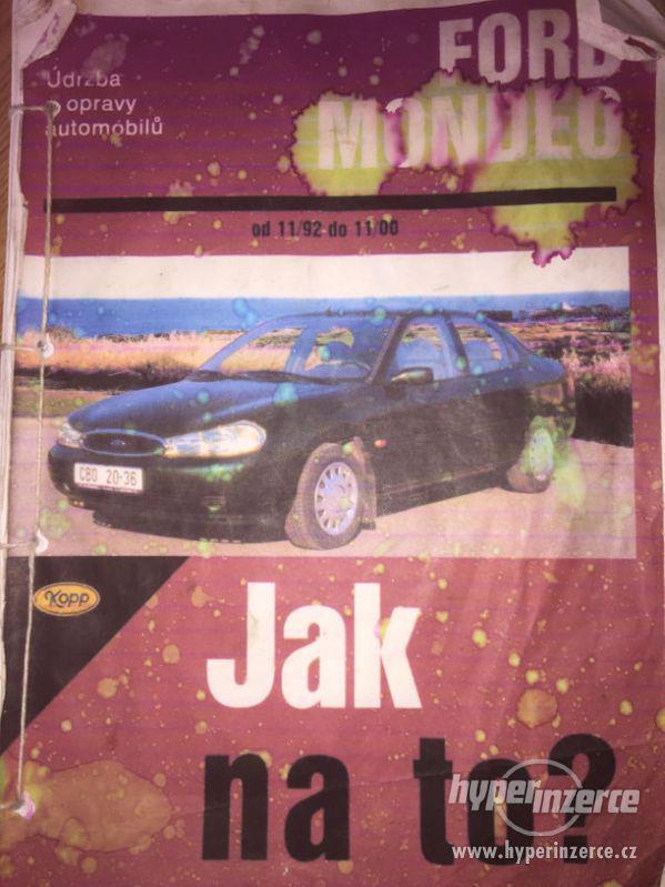 Dílenská příručka Ford Mondeo 1992-2000 Jak na to? - foto 1