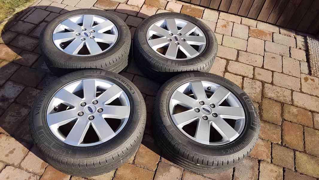 Prodám kola FORD 6,5J x 16 H2 RT 52,5; 205/50 R16