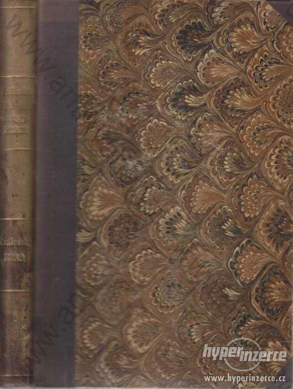 Malebné cesty po Praze Edvard Herold 1884