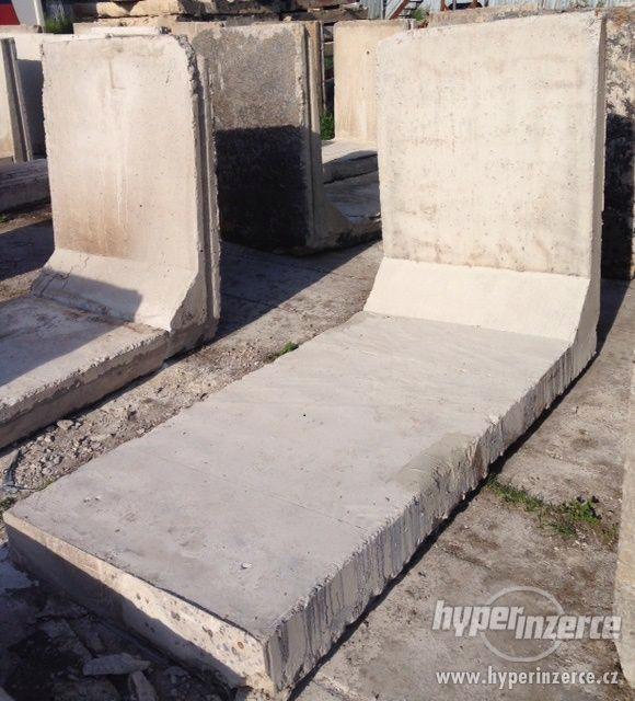 betonové L panely