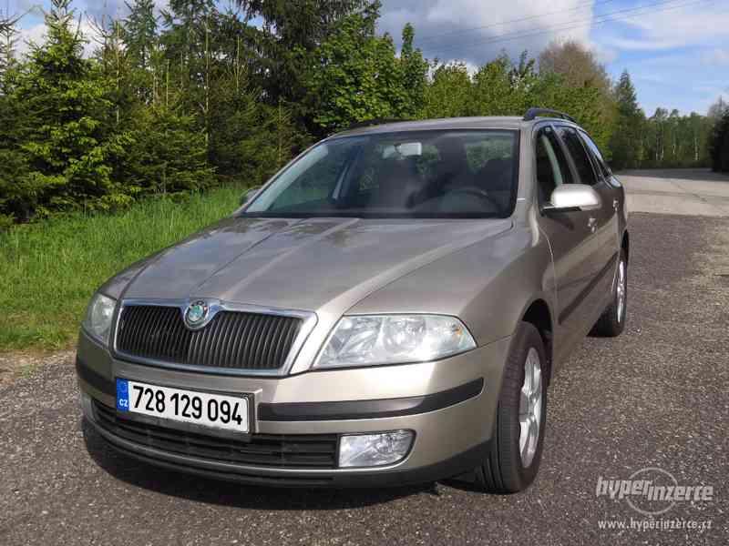 Škoda Octavia II | 1.9 TDI | 4x4 | TAŽNÉ ZAŘÍZENÍ
