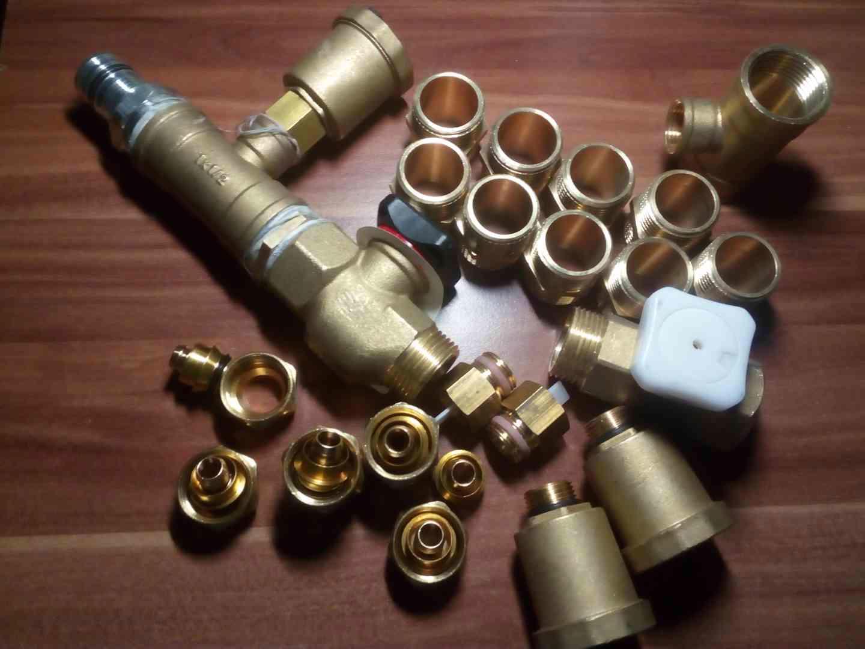 Set regulačních kulovych ventilu pro rozdelovace - foto 1