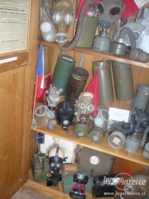 Sbírka plynových masek