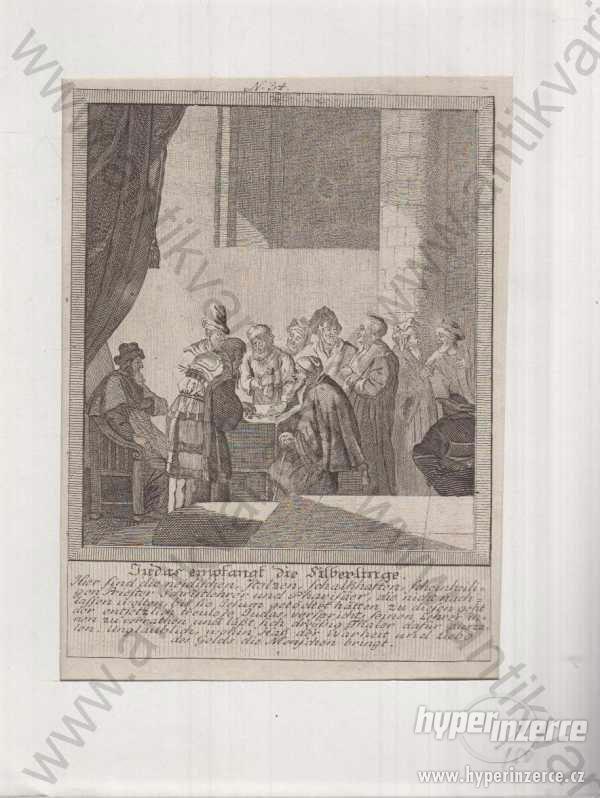 Judas empfangs die Silberlinge