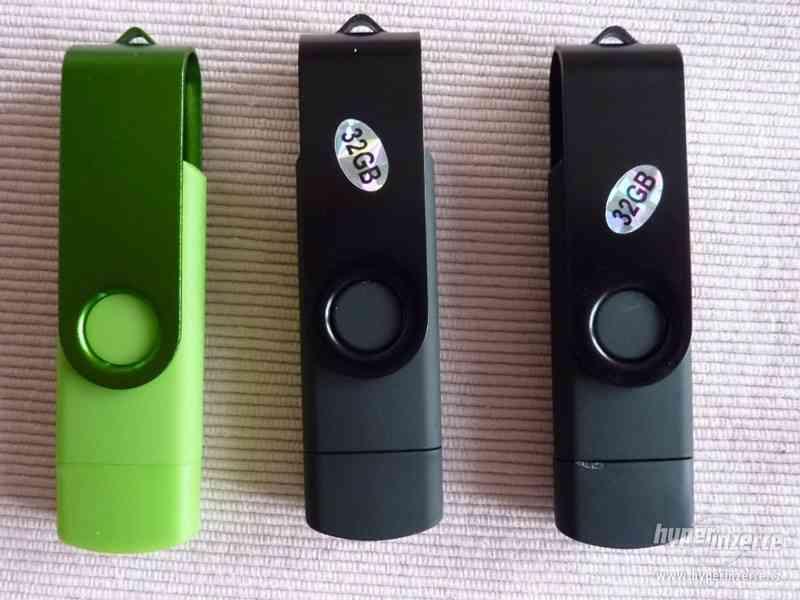 USB-OTG flash 2v1 32GB s micro konektorem NOVÝ-ČERNÝ