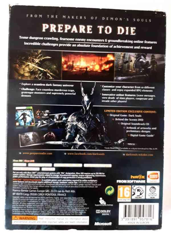 Dark Souls - Limited Edition na Xbox 360 - foto 2