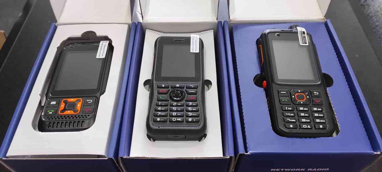 GDR vysílačky pro mobilní sítě 3G/4G nebo WiFi