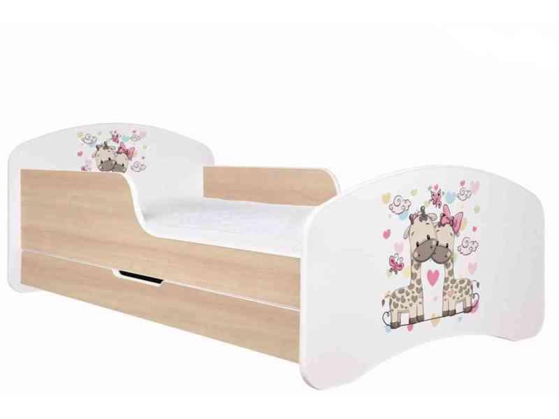 Dětská postel 180x90 cm + ul. pr. a matrace