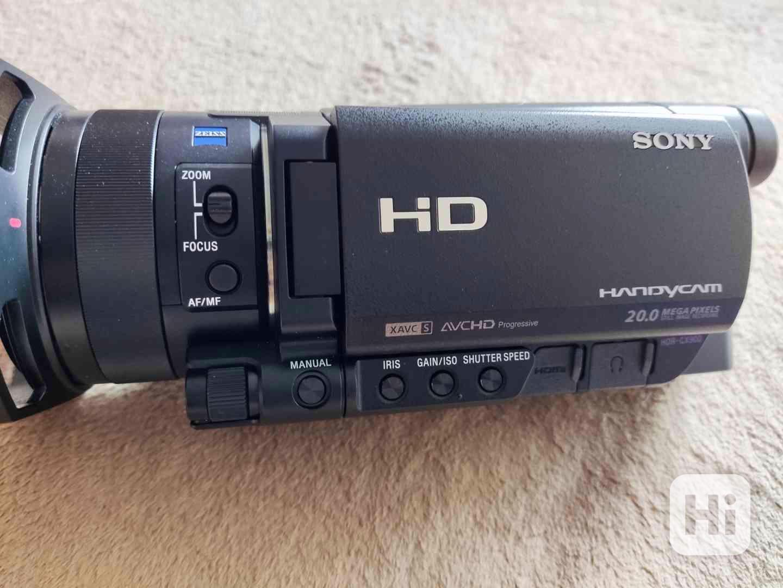 Kamera Sony HDR-CX900e, 2x baterie sony, 32Gb SD - foto 1