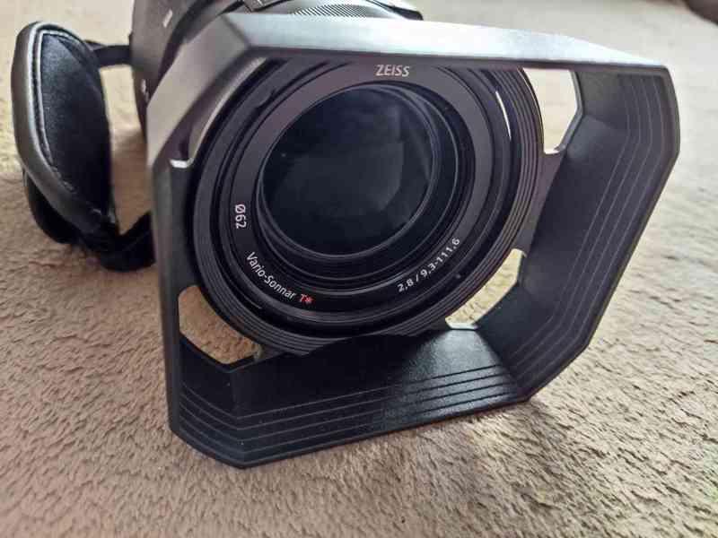 Kamera Sony HDR-CX900e, 2x baterie sony, 32Gb SD - foto 3