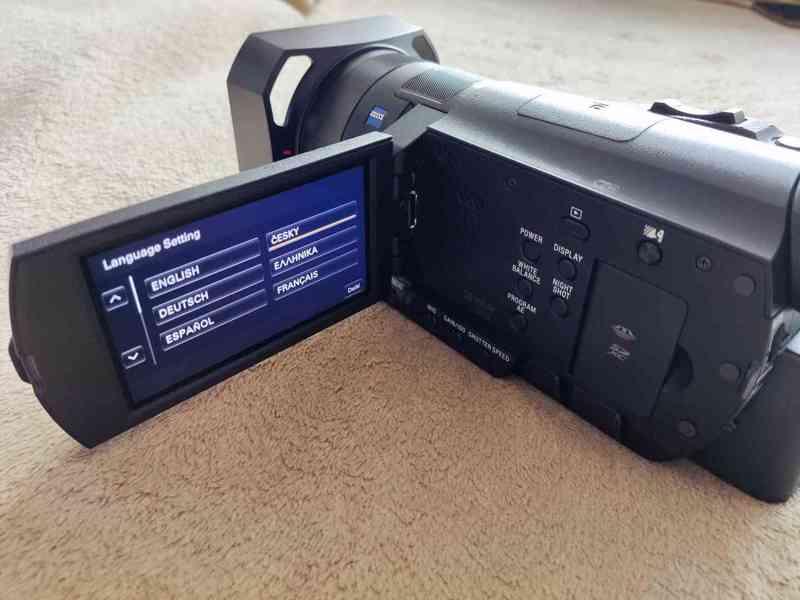 Kamera Sony HDR-CX900e, 2x baterie sony, 32Gb SD - foto 4