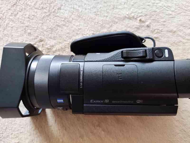 Kamera Sony HDR-CX900e, 2x baterie sony, 32Gb SD - foto 2