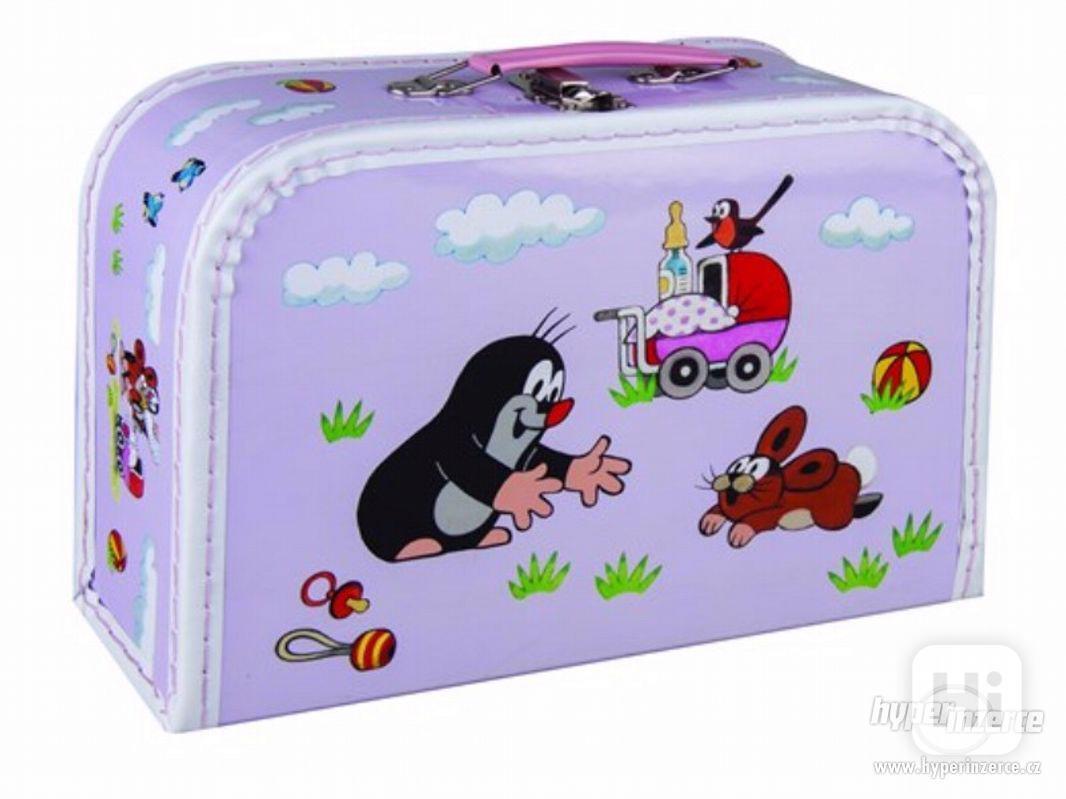 Prodám NOVÉ dětské kufříky s krtkem - foto 1