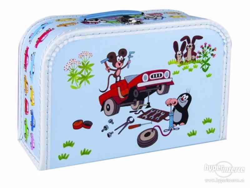 Prodám NOVÉ dětské kufříky s krtkem - foto 2