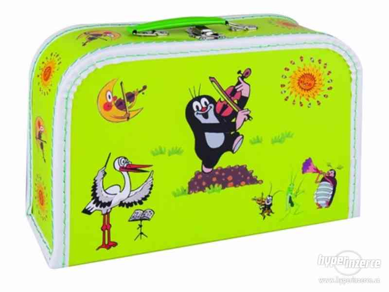 Prodám NOVÉ dětské kufříky s krtkem - foto 3